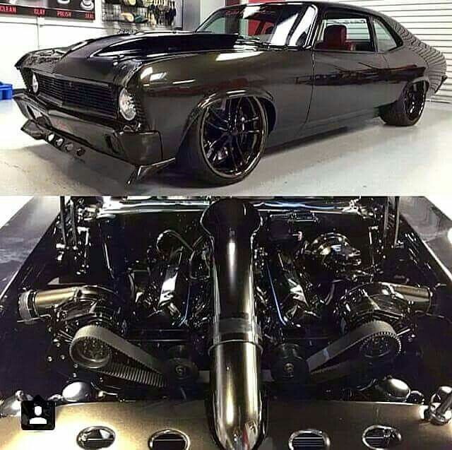 69 Black Murder Nova Twin Turbo