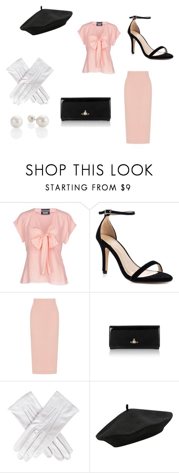 vintage! by isluecke on Polyvore featuring Boutique Moschino, Roland Mouret, Pink Paradox London, Vivienne Westwood, Black, M&Co and vintage