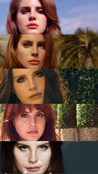 Born To Die , The Paradise Edition, Ultraviolence, Honeymoon, Lust for Life #Ldr #LDR_eras