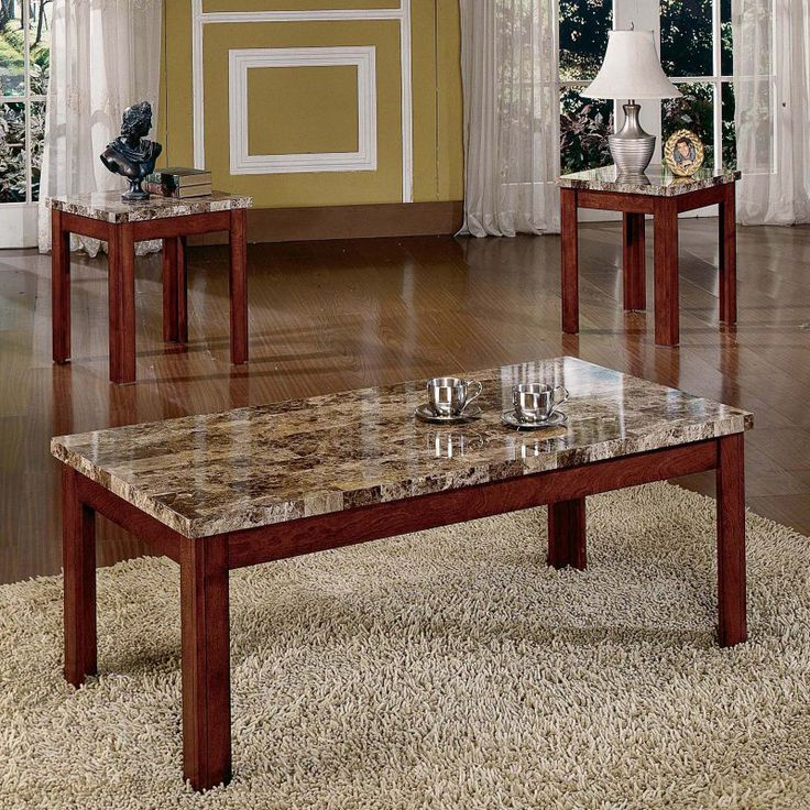 Steve Silver Montibello Coffee Table And End Table Set   MN800, Durable