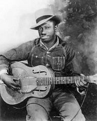 Legendary Mississippi blues singer and guitarist, Robert Petway. Little is known of his life, and this is his only known picture (1941). He recorded only 16 songs (in Chicago in 1941 and 1942), but influenced notable blues and rock musicians, such as Muddy Waters, John Lee Hooker and Jimi Hendrix