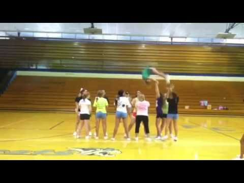 Awesome Cheer Stunt