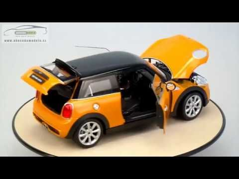 MINI COOPER S 2014 orange Welly 1/18