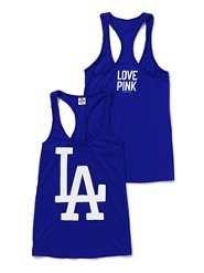 I want the whole line of Dodgers clothes from Victoria's Secret.