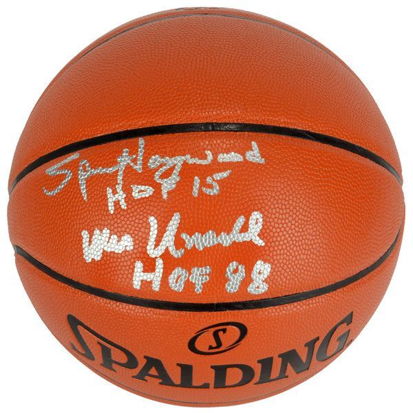 Wes Unseld, Spencer Haywood Washington Bullets Fanatics Authentic Autographed Indoor/Outdoor Basketball with HOF 15 and HOF 88 Inscriptions - $129.99