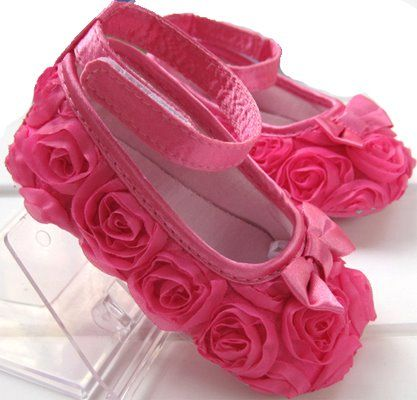 Dont you just luv these infant shoes I even have the matching hair accesory: Baby Girls Shoes, Babies, Pink Mary, Hot Pink, Pink Rose, Toddlers, Baby Shoes, Flower, Kid