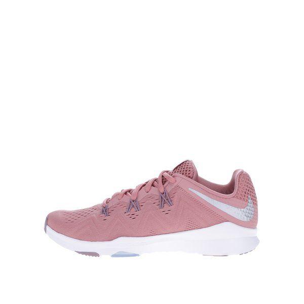 Pantofi sport roz pentru femei Nike Air Zoom Condition -  - realizati din panza cu tehnologie speciala pentru un nivel ridicat de respirabilitate- varf rotunjit - zona din jurul gleznei este captusita, ca un guler protector - brant confortabil care protejeaza in intregime talpa piciorului - lamela din spu