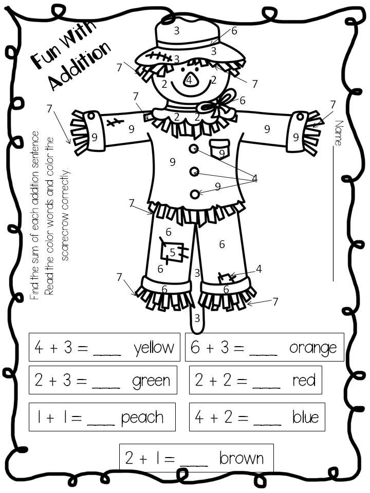 1000+ images about Scarecrows worksheets, stories, poems and ...