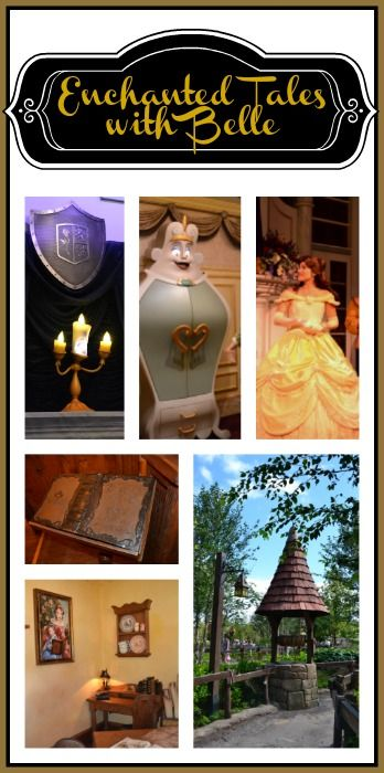 Enchanted Tales with Belle is a wonderful experience and you get a free souvenir and meet Belle!