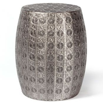 Furniture Online U0026 Decorating Accessories | Stamped Metal Drum Table |  Interiors Online Furniture
