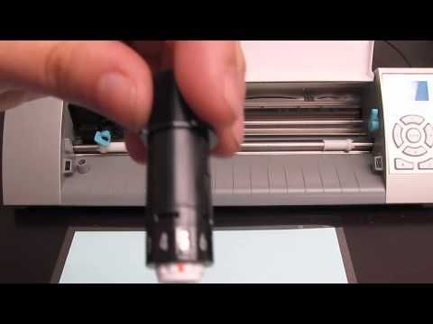 Silhouette CAMEO :: Making Your First Cut! - YouTube