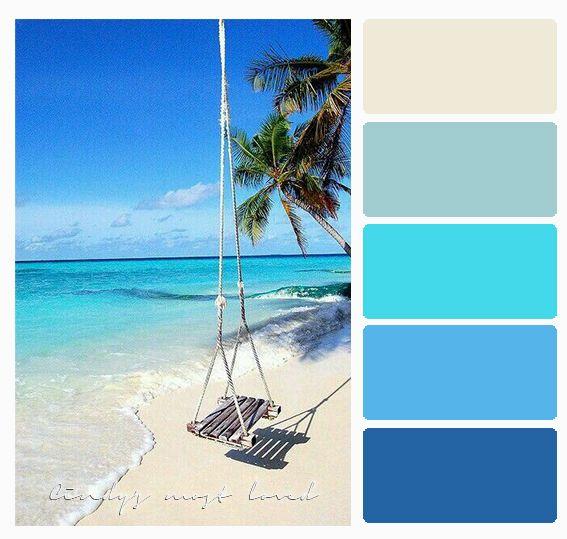 Color Palette Beach Ocean Sea With Images Ocean Color Palette