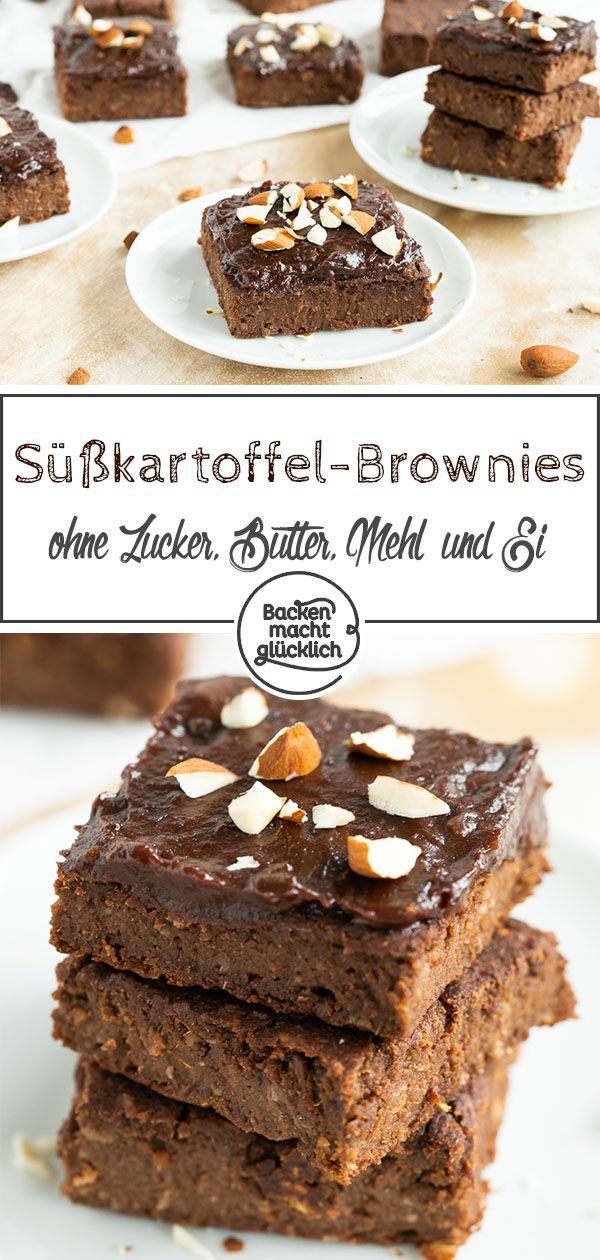 Süßkartoffel-Brownies – Backen macht glücklich