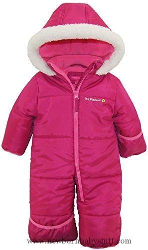 5daae83e3 Baby Girl Clothes Pink Platinum Baby Girls One Piece Warm Winter ...