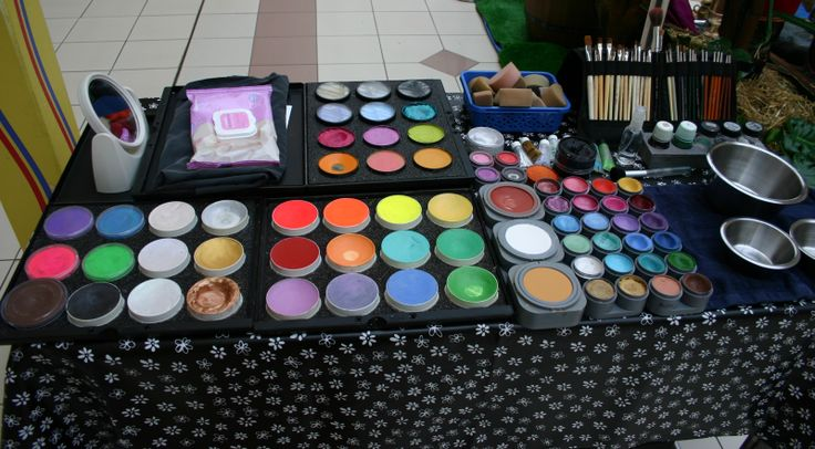 Professional Face Painting Kits