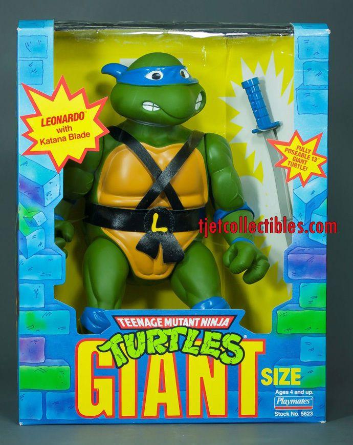 """Teenage Mutant Ninja Turtles Giant Size 13"""" Leonardo Action Figure 1989 #TeenageMutantNinjaTurtles"""