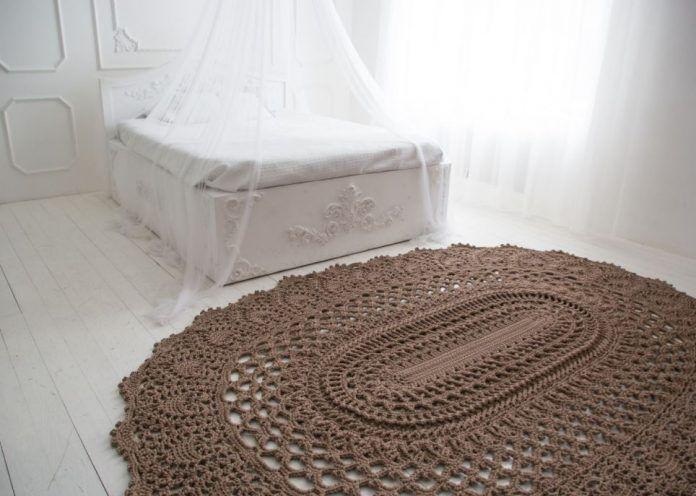 Crochet Rug Crochet Patterns Pinterest Crochet And
