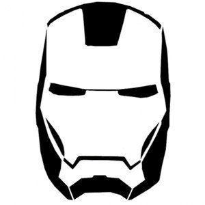 Marvel Iron Man 5x3 Vinyl Decal Avengers Iron Man by AMAvinyl, $5.00