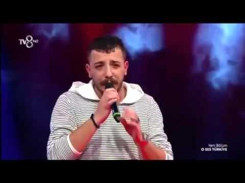 Ahmet Parlak - İsyan   O Ses Türkiye performansı