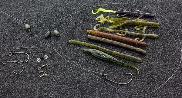 46 best images about plastics carolina rig on pinterest for Bass fishing rig