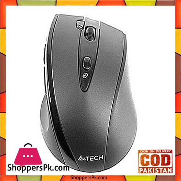 612885cb139 A4TECH Wireless Mouse Black. G10-770FL | Shopperspk.com | Computer ...