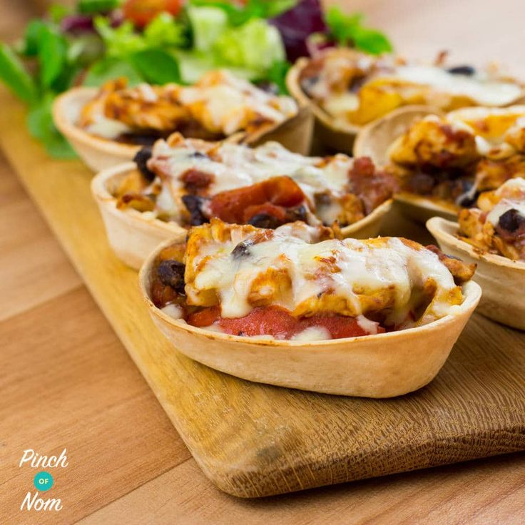 Low Syn Chicken and Black Bean Mini Tortillas