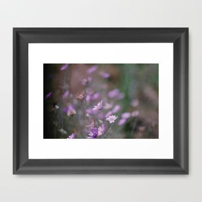 Nature Buzz Framed Art Print by Ina Ionescu