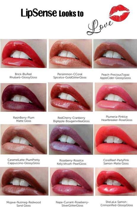 Most Natural Lipsense Color