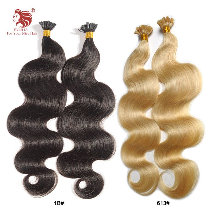 Free shipping grade 6a body wave remy hair 100g/pac 100s u tip keratin fusion human hair extension 18''-24'' can be customized