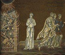 Sodome — Mosaïque byzantine de Monreale