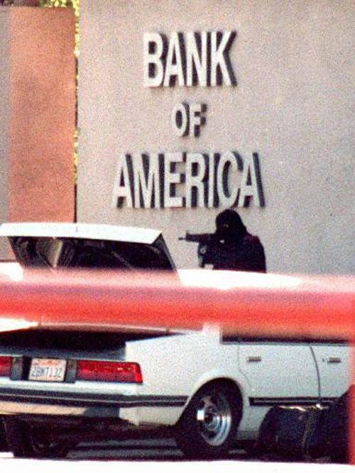 Bank of America, cops and robbers, hiest