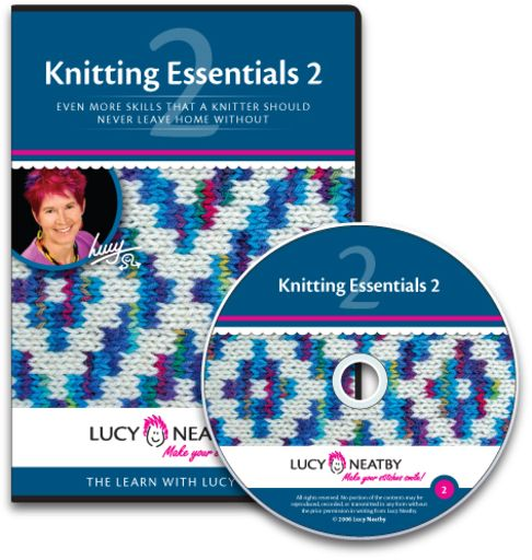 In Knitting Essentials 2 you will find more bind-off methods, more cast-on methods, as well as circular knitting basics, and lots more besides that.