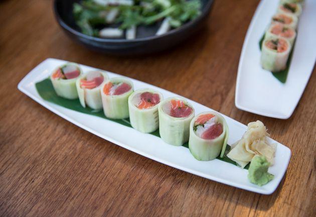 Blue Ribbon Sushi Bar & Grill, Sashimi, Gluten Free, Los Angles Dining, Restaurant, Healthy Eating, Gluten Free, The Grove