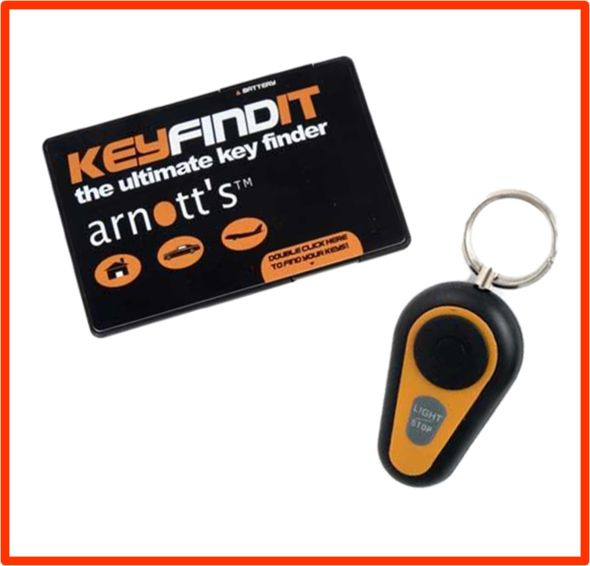 Never loose your keys again with the Key Findit.