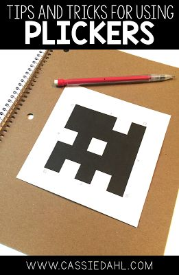 """Spice up your assessments by using Plickers! It is a free website that uses """"paper clickers"""" for student to submit their answers to you. This blog post gives you all the details on how to use Plickers in your classroom!"""