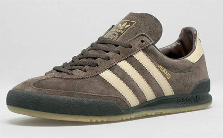 Adidas Jean MKII trainers reissued in brown suede
