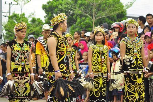 "Traditional Erau dance: The word ""erau"" derives from ""eroh"" which means ""joyful"" or ""merry"". (Photo courtesy..."