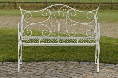 107 best images about gartenb nke g nstig online kaufen for Banc de jardin metal blanc