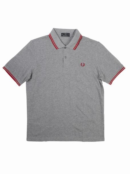 brooksfield FRED PERRY LAUREL WREATH POLO - M12 Marle-Blood