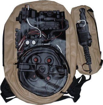 Ghostbusters Proton Pack Backpack #tip #tipping #tiporskip #fall #style #back2school #gear #travel #accessories #bag #whoyougonnacall #backpack #geekchic