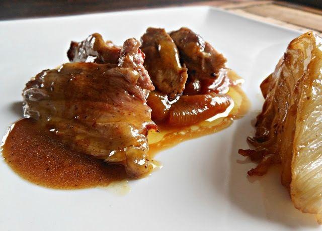 Anatra in salsa piccante