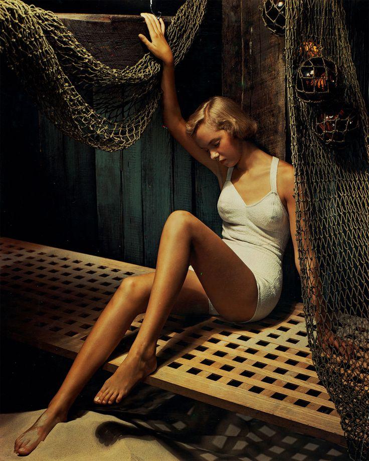 Swimsuit advt, 1951 Photograph: Anton Bruehl