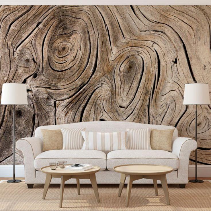 Fotobehang Boomstructuur | Maak het jezelf eenvoudig en bestel fotobehang voorzien van een lijmlaag bij YouPri om zo gemakkelijk jouw woonruimte een nieuwe stijl te geven. Voor het behangen heb je alleen water nodig!   #behang #fotobehang #print #opdruk #afbeelding #diy #behangen #boom #natuur #patroon #stam #boomstam #bruin