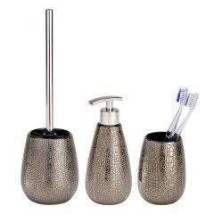 WENKO Bad Accessoire Set Marrakesh, 3 Teilig