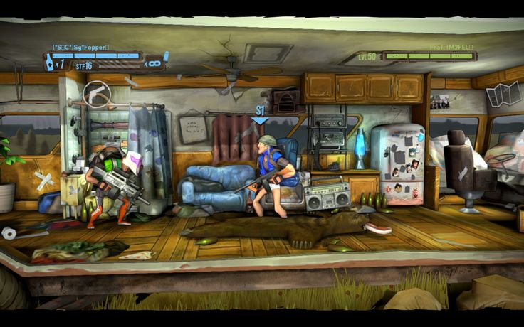 Shoot Many Robots PC Game Screenshots