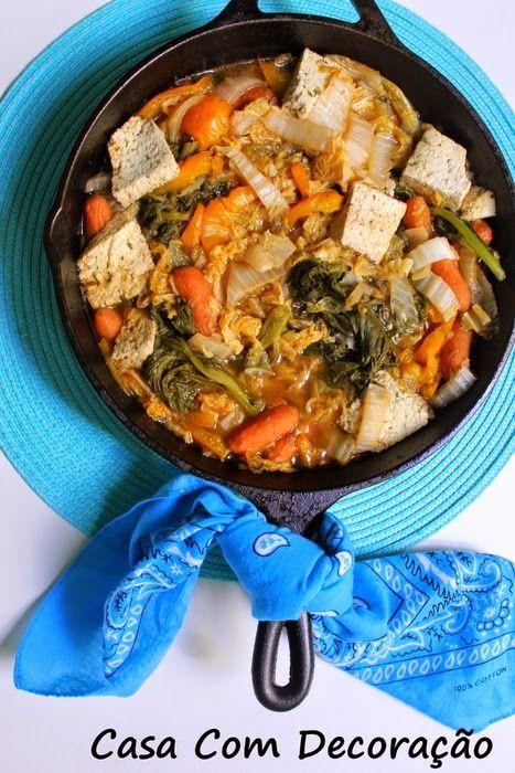 Casa Com Decoração- Blog de Decoração: Receita- Almoço rápido usando frigideira de ferro
