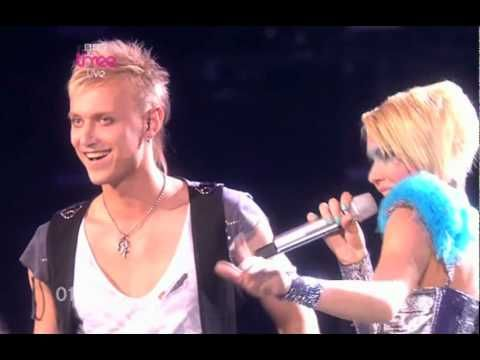 The original song that gave us Epic Sax Guy.    Performed by Sunstroke Project and Olia Tira as Moldova's entry in the Eurovision.  The song's called Run Away