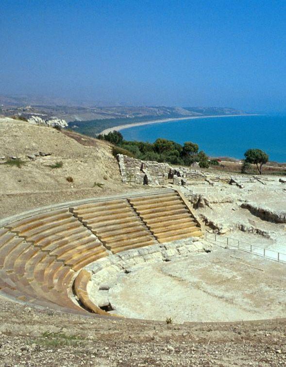 Area archeologica di Eraclea MInoa - la storia e il mare.
