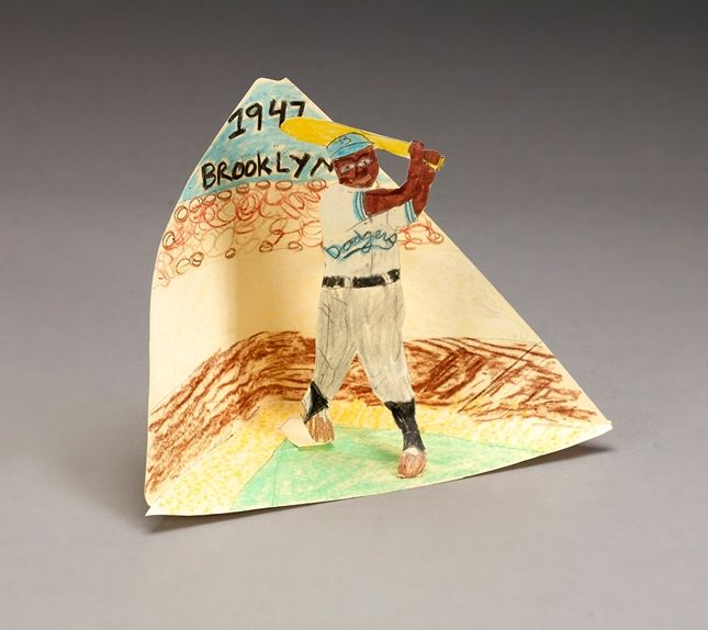 Honor a key sports figure in U.S. civil rights history, Jackie Robinson. Kids depict the historic day that an African American first played major-league baseball.