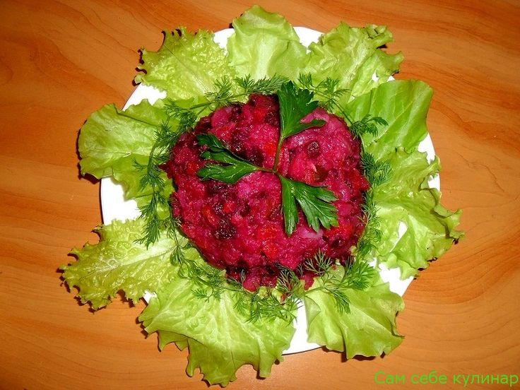 Винегрет - пошаговый фото рецепт